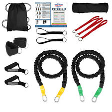 """FitCord """"SILVER"""" Body Sculpting Band Load Kit. American Made. Lifetime Warranty."""