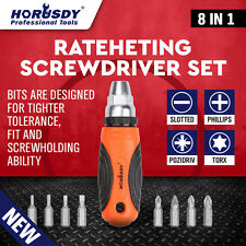 8in1 Screwdriver Bits  Ratchet Torx Fix Home Repair Kit DIY Tool Accessories New