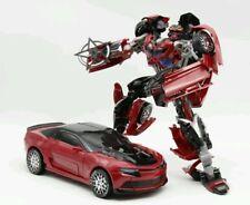 Weijiang Transformation Autobots Red Stinger bumblebee Metal Robot Car large ko