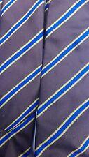 4 BROWN BLUE STRIPE TIES Stag hen Night School St Trinian Goth SKOOL xmas partY