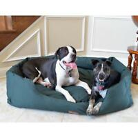 "Armarkat XL 50"" Dog Pet Bolster Bed Skid Free Heavy Duty Waterproof Canvas Cover"