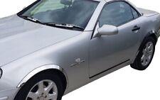 MERCEDES SLK R170 Chrome wheel arch trims 4pcs left right wing molding kit 96-04