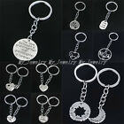 Family Gifts Friend Keyring Charm Keychain Findings Hot New Tibetan Silver Tone