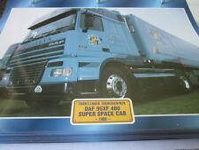 Super Trucks Frontlenker Niederlande DAF 95XF 480 Super Space Cab 1999