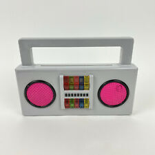 Yo Gabba Gabba Boombox Toy Pop Up Characters Carry Along Music 2009 Spin Master