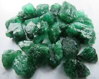 Natural UNCUT Gems Colombian Emerald Crystal Rough Gemstone Lot