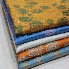 Chinese Dress Diy Trim Costume Pillow Damask Satin Silk Brocade Jacquard Fabric