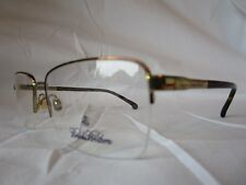 08fa732363 BROOKS BROTHERS EYEGLASS FRAME BB1044 1001 SHINY GOLD 56-17-145 NEW    AUTHENTIC