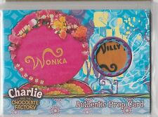 Charlie and the Chocolate Factory Artbox 2005 WONKA BOX PROP Card 309/390
