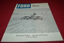 Ford Tractor 309 Planter Dealers Brochure AMIL15