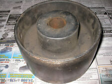"""7"""" Cast Iron Belt Pulley Hit Miss Gas Engine Steam Tractor Reversable Wow!"""