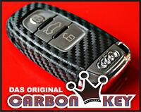 #004 Audi Audi A4 8K A5 - RS4 S4 RS5 S5 quattro Schlüssel-Dekor Carbon-Optik