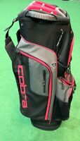 Cobra XL Speed Ladies' Golf Cart Bag - Black / Grey / Pink