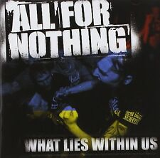 ALL FOR NOTHING - WHAT LIES WITHIN US [JEWELCASE]  CD NEU