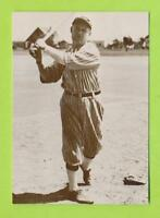1978 Dover Publications Postcard - Sam Crawford  Hall of Fame Member