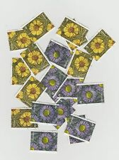 Canada 2017 Flowers from Booklet 10 Used Sets ( 20 Stamps)