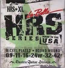 La Bella HRS*XL  Nickel Electric Guitar Strings - Extra Light.
