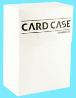 ULTIMATE GUARD JAPANESE SIZED SMALL WHITE DECK CASE CARD STORAGE BOX yugioh 60+