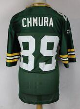 "Vintage Green Bay Packers Football Américain Maillot Homme 48"" Starter Chmura #89"