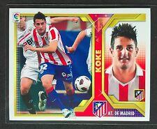2011-12 Panini Coleccionnes Liga Este Coloca #11B Koke Sticker Atletico Madrid