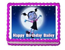 Vampirina edible cake image cake topper frosting sheet decoration-personalized