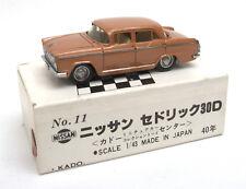 Kado (Japan) 1/43 Nissan Cedric 30D 1960 Model No.11 * MIB *