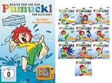 4 DVDs +10 CDs * MEISTER EDER UND SEIN PUMUCKL DVD BOX + CD 1-10 SET # NEU OVP !