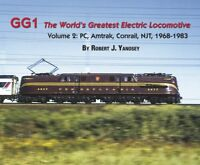 GG1: The World's Greatest ELECTRIC LOCOMOTIVE, Vol. 2: PC, Amtrak, 1968-1983 NEW