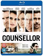The Counsellor [Blu-ray] [DVD][Region 2]