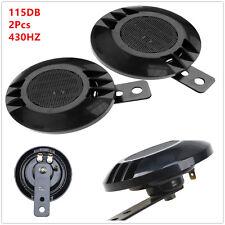 2Pcs 12V 43Hz 115dB Motorcycle Compact Car ATV Loud Snail Air Horn Waterproof