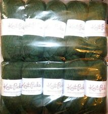 FOREST HEATHER 10 Skeins 1,370yd Knit Picks WOOL of the ANDES Soft Sport Wt YARN