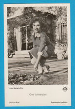 Gina Lollobrigida - 4 unsignierte Ufa - Karten !!  - #  18308