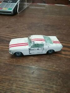 Corgi Toys 325 Ford Mustang Fastback 2 + 2  Competition Model GOOD SUSPENSION