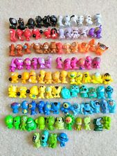 GoGo's Crazy Bones Toy Pieces Bundle Lot of Gogos 100 Different Figures (ref135)