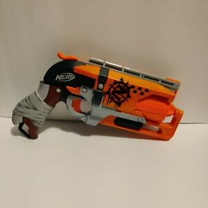 Nerf A4325 Zombie Strike Hammershot Blaster*Used, Good Condition*