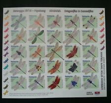 Dragonflies & Damselflies Malaysia 2000 Insect Dragonfly (sheetlet) MNH *imperf