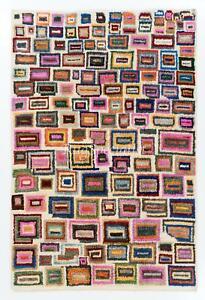 Colorful Contemporary Tulu Rug