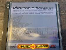 Electronic Frankfurt Techno Compilation CD, Fax label etc.