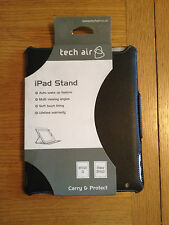 Techair Folio Stand Case APPLE Ipad 2/3/4 BLACK TAXIPF007