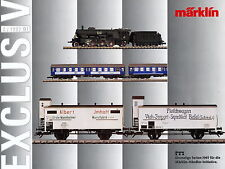 Märklin Exclusiv 2 97 PROSPEKT 1997 catalog MARKLIN MODEL RAILWAYS treno rapido