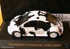 VW VOLKSWAGEN NEW BEETLE SPECIAL COW LIVERY IXO 1/43