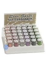 STARGAZER GLITTER SHAKER HOLOGRAPHIC COLOURS - BODY, FACE, HAIR & NAILS