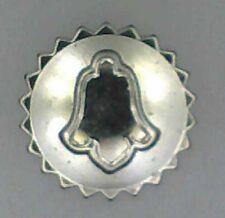 Corona de acero inoxidable para reloj de pulsera-despertador Ø 4,2mm altura 1,5mm stem Ø 0,9mm ~ nos ~