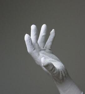 50 Paar Arbeitshandschuhe Strickhandschuhe Noppen Noppenhandschuhe weiß
