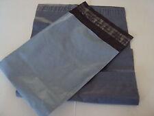 50 Gris Pvc Bolsa para envíos 20.3cm x 34.3cm/200x 340 plástico correo sobres