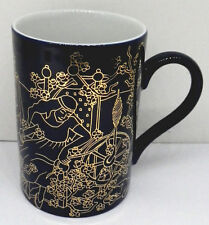 Lebkuchen Schmidt Märchen Sammelbecher Porzellan Kaffee Becher Nr 4 Kobalt Gold