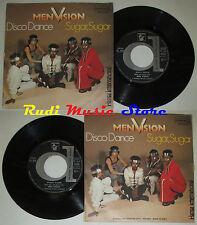 LP 45 7'' MEN VISION Disco dance Sugar 1979 italy HANSA DURIUM DN38111 cd mc dvd