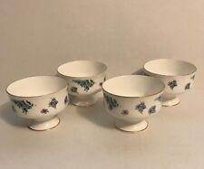 Royal Victoria Fine Bone China ROV3 Pattern Floral Blue Pink Sherbet Cup - 4