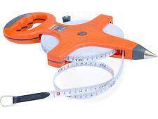 50Meter Constriction Metric Retractable Long Fiberglass Measuring Tape