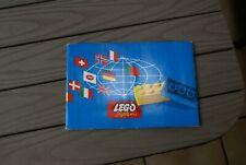 LEGO Bauideen 1 mit Katalog Erstausgabe 1960 | vintage catalog